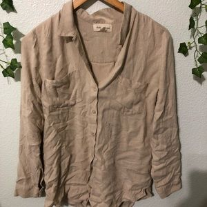 Cloth and Stone/Anthropologie Button Down